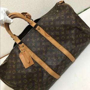 Authentic louis vuitton keepall 55 travel bag